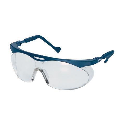 Antihaft 5 St/ück Easy to Clean Uvex W09101 Skyper 9195 Schutzbrille f/ür Herren Klar//Blau Kratzfest 2-1,2 Chemikalienbest/ändig