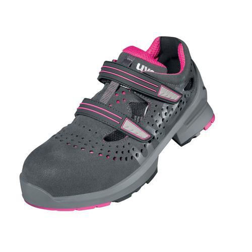 uvex Damen Sicherheits-Schuhe Mikrovelours S1 Arbeits-Schutz Gr 35-43