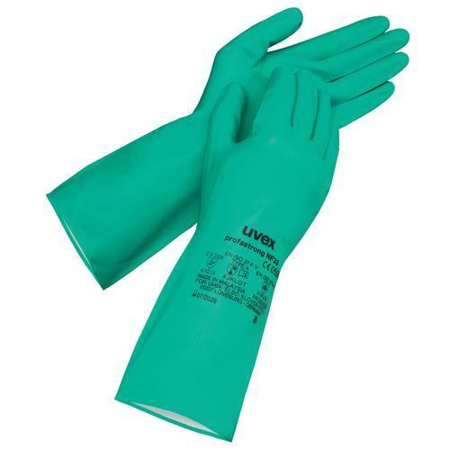 9 Paar Uvex Profastrong Nf 33 Chemikalienschutzhandschuhe Business & Industrie Handschuhe